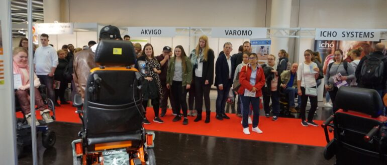 Caterwi joins Rehacare exibition