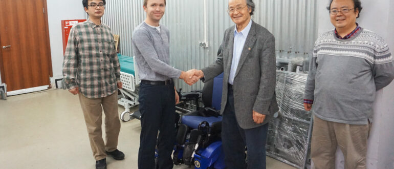 Caterwil stair-climbing power wheelchairs now available in Japan